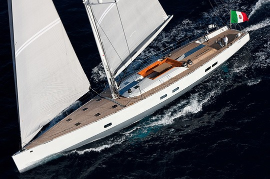 100ft Wally sailing yacht INDIO - S.Y Indio